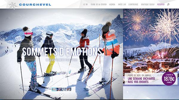 Contacter l 39 h tel edelweiss courchevel - Courchevel 1650 office du tourisme ...